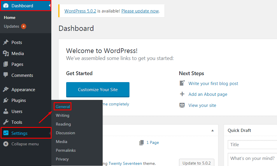 Blog Anonymously in WordPress.