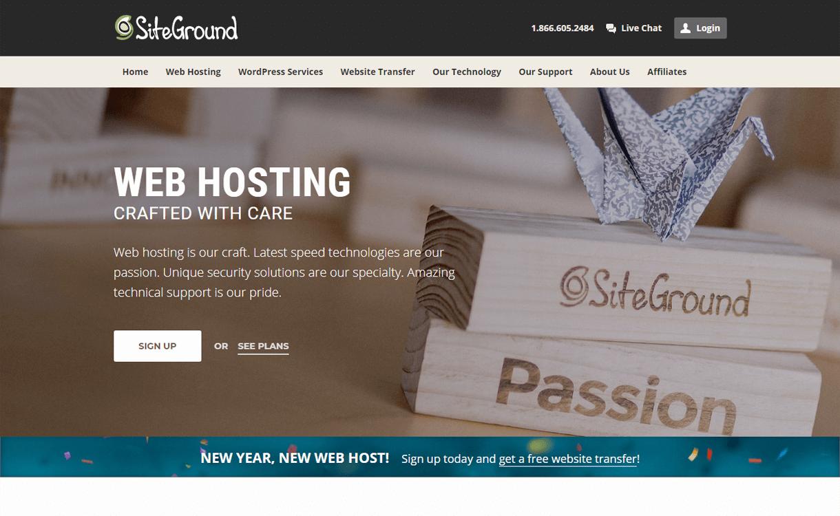 SiteGround-Best WordPress Hosting Services