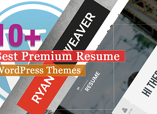 Best Premium Resume WordPress Themes