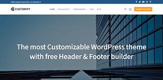 Customify - Free WordPress Multipurpose Theme