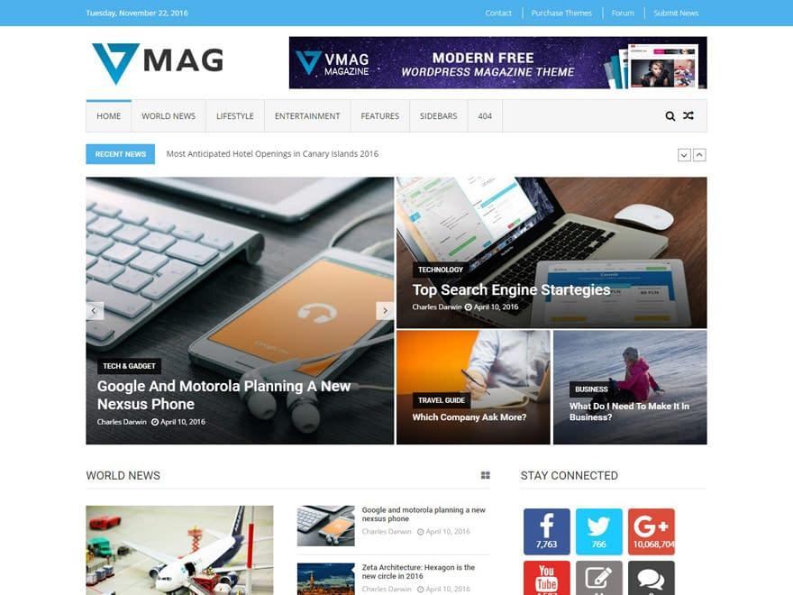 vmag-free-wordpress-magazine-theme