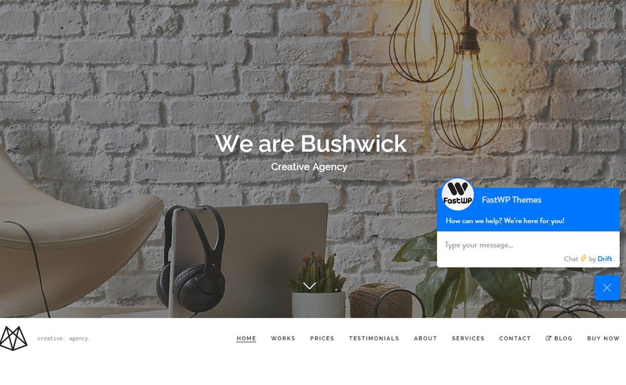 bushwick-best-premium-minimal-wordpress-themes