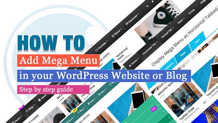 How to Add Mega Menu in your WordPress Website
