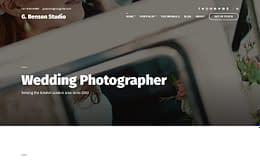 Benson - Premium Photography WordPress Theme