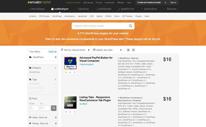 codecanyon-WordPress-plugin-store