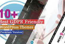 Best Premium GDPR Friendly WordPress Themes