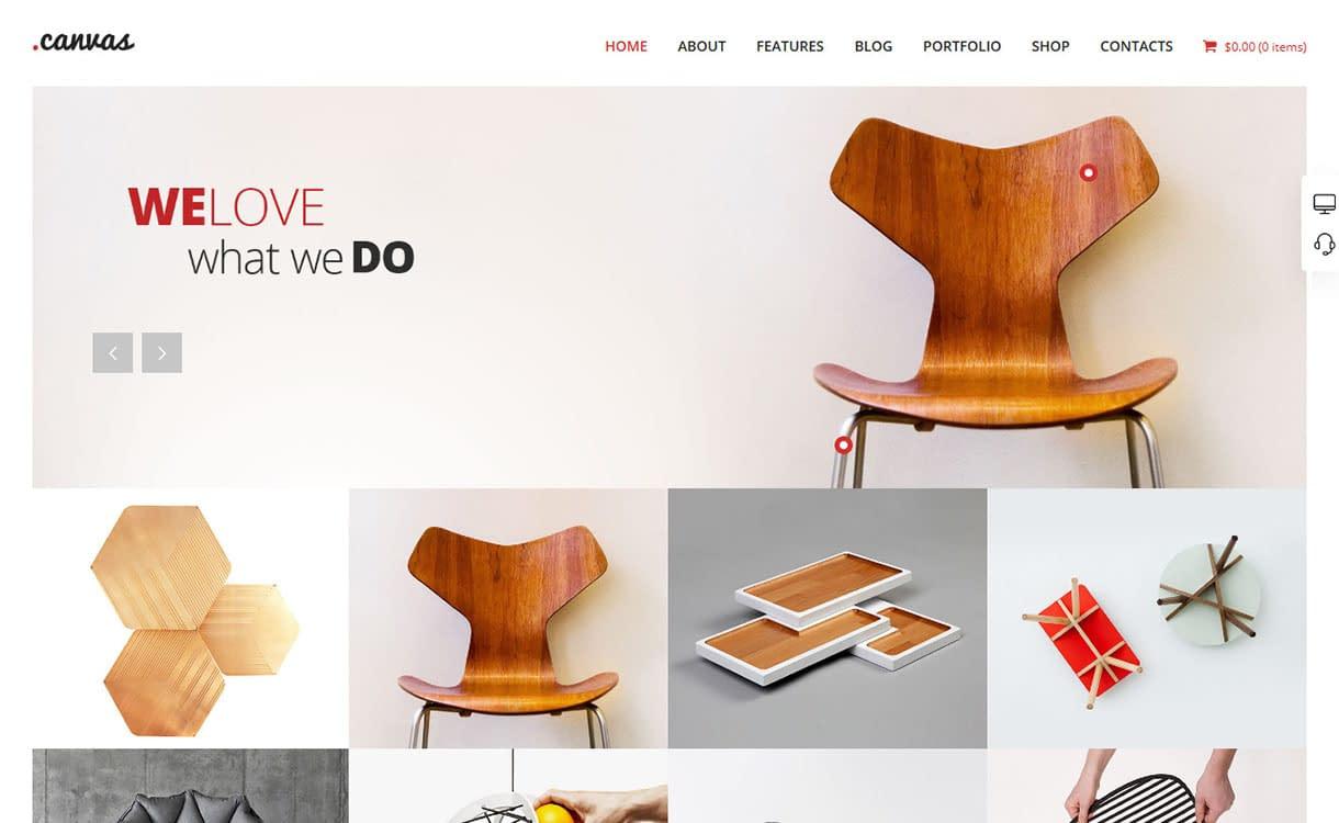 canvas-best-premium-interior-design-wordpress-theme