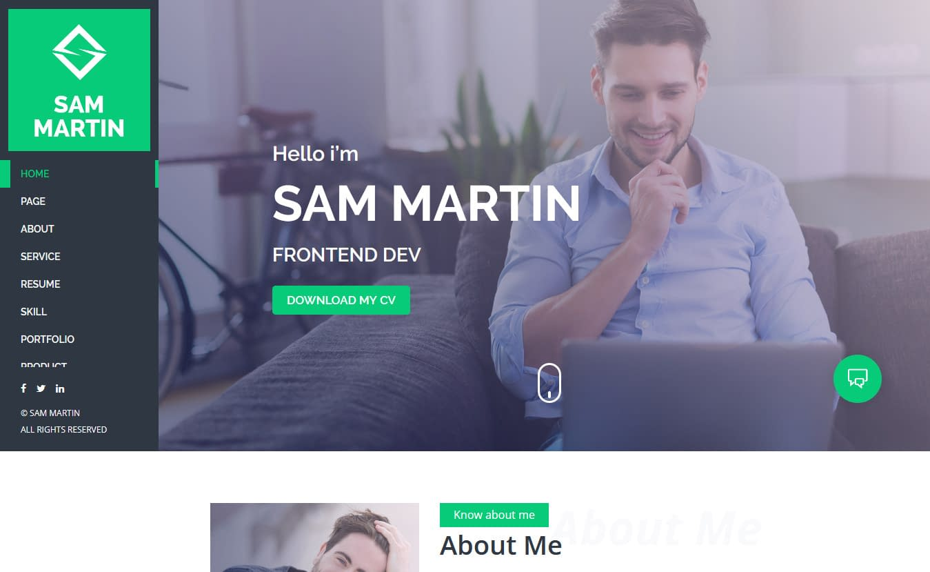 10+ Best Premium Resume WordPress Themes