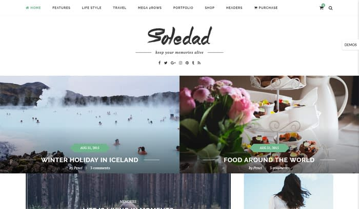 Soledad - Best Selling Themeforest Theme