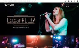 Wayfarer : Premium WordPress Music Theme