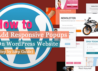 How to Add Responsive Popups on WordPress Website?