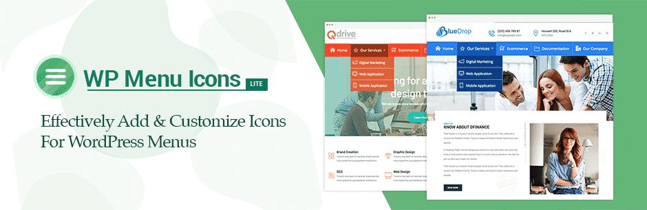 WP Menu Icons Lite – Free WordPress Custom Menu Icons Plugin