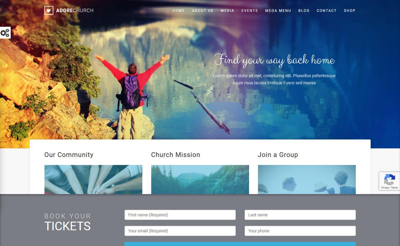 10+ Best Premium Church WordPress Themes