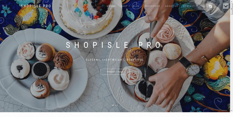 ShopIsle Pro - Best Premium WordPress eCommerce WooCommerce Online Store Themes 2017