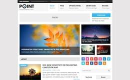 point-free-WordPress-theme