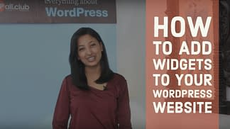 How to add widgets to your WordPress website