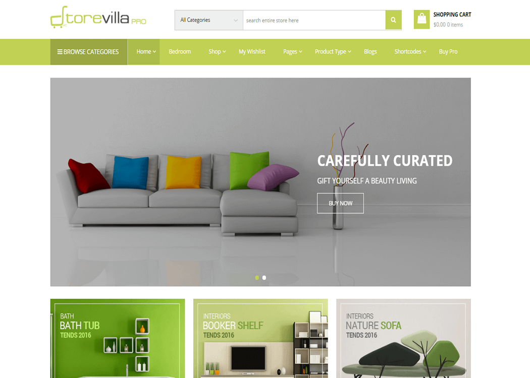 StoreVilla Pro - WordPress eCommerce Theme