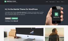 martial-free-WordPress-theme