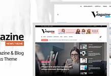 Vmagazine - Wordpress Magazine Theme