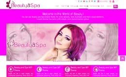 Beauty and Spa - Free One Page WordPress Theme