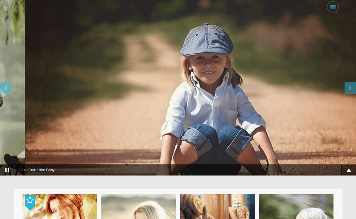 Click-Best Free WordPress Photography Themes