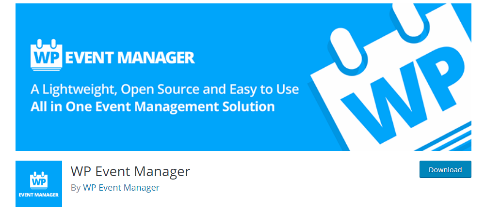 WP Event Manager - The Ultimate WordPress Event Management Plugin
