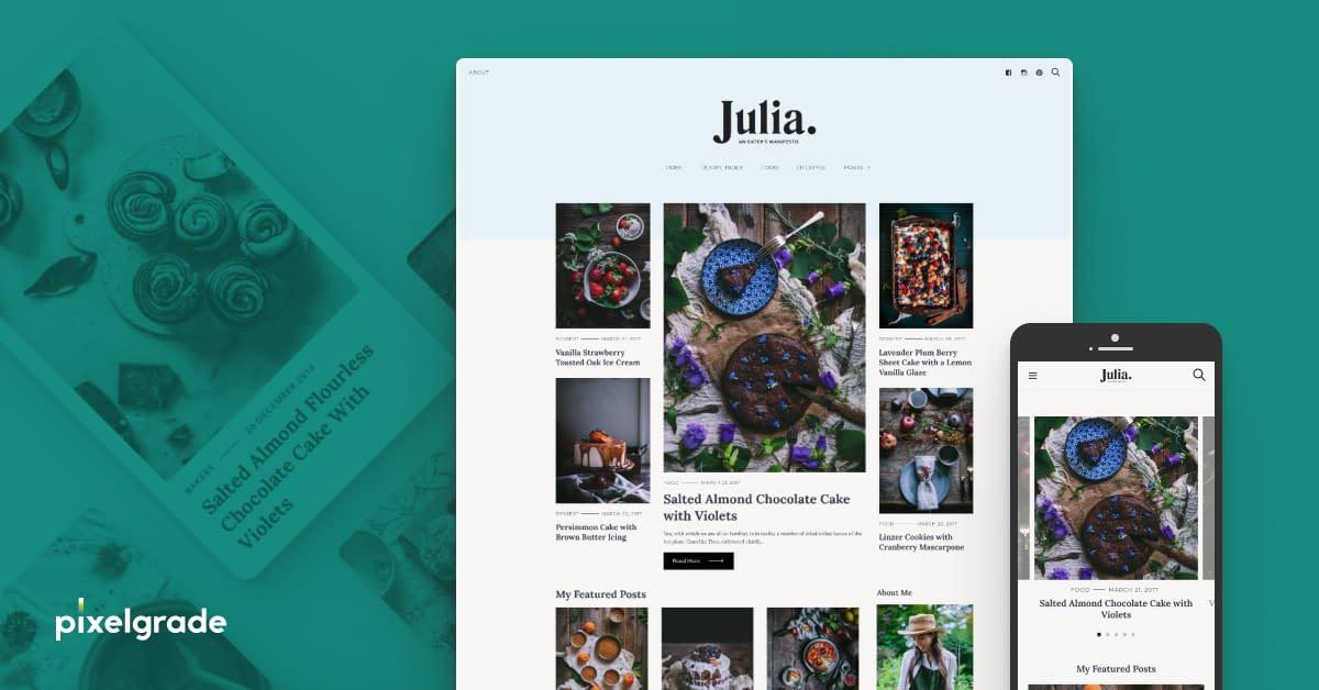 Julia - WordPress Blog Theme