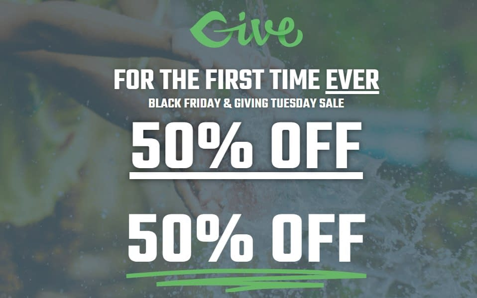 GiveWP - Black Friday Sale