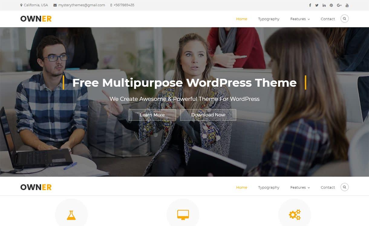 owner-best-free-interior-design-wordpress-theme