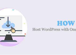 Host WordPress with One-Click Install