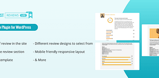 Everest Review Lite – Free WordPress User/Admin Review Plugin