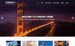Florence It - Free Responsive WordPress Theme