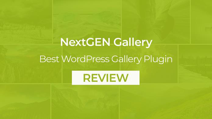 NextGEN Gallery Best WordPress Gallery Plugin