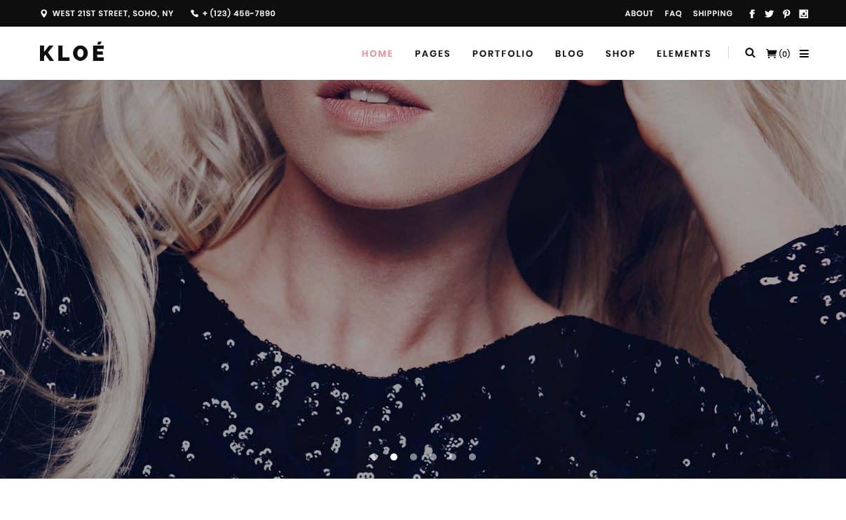 Kloe - Premium Fitness WordPress Theme