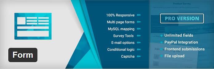 Form - Advanced Form Builder Plugin