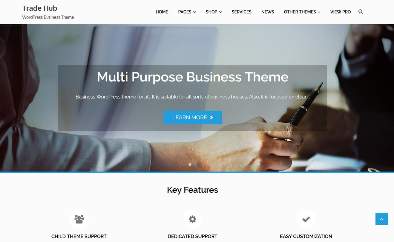 10+ Best Free Accounting WordPress Themes