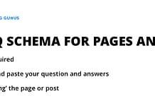 FAQ Schema WordPress plugin