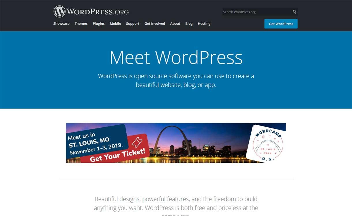 WordPress.org - Best Blogging Platforms