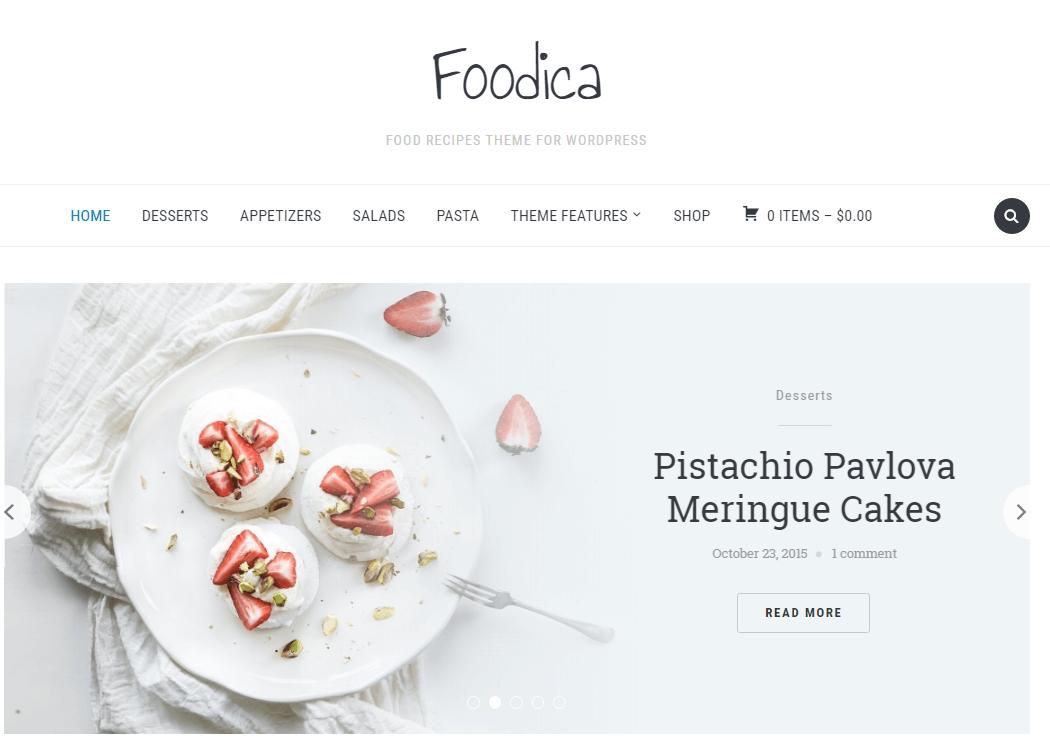 Foodica - WordPress Multipurpose Theme