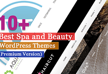 Best Premium Spa and Beauty WordPress Themes