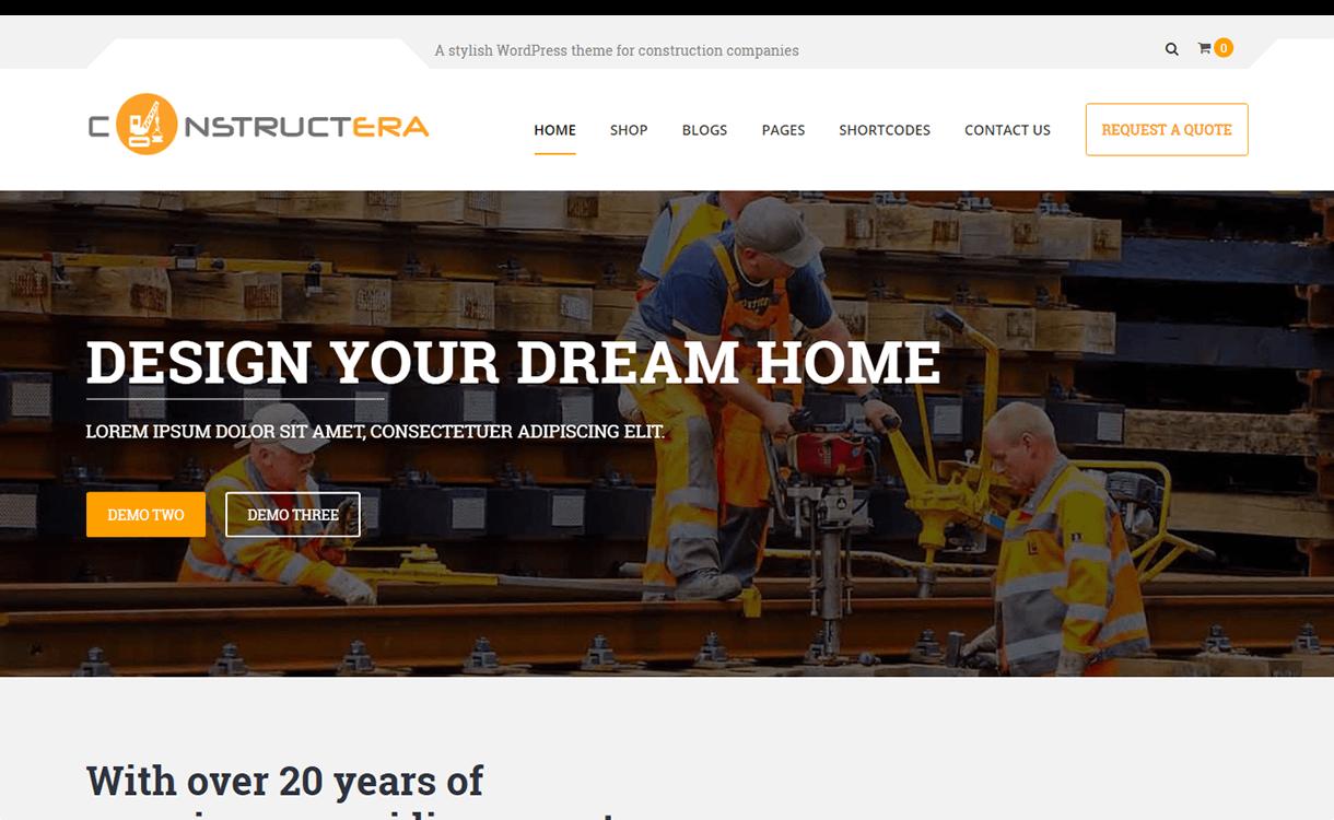Constructera-Premium Construction WordPress Theme