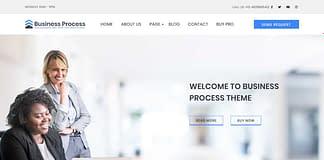 Business Process - Free WordPress Business Theme