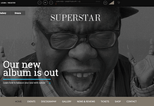 Superstar - Premium Music Band WordPress Theme