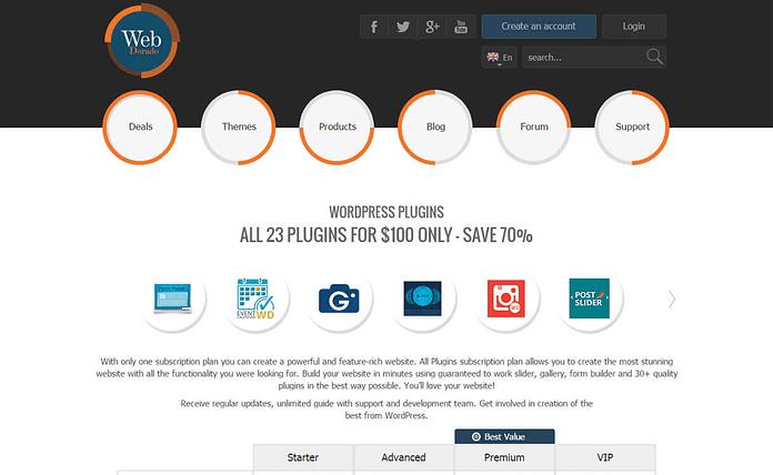 web-dorado-WordPress-plugin-store