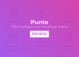 Punte – Free Multipurpose WordPress Theme Review