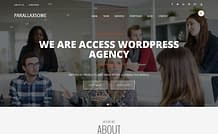 ParallaxSome - Free One Page WordPress Theme