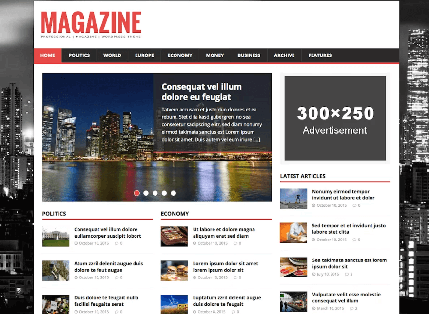 MH Magazine Lite - Best Free WordPress News Magazine Themes