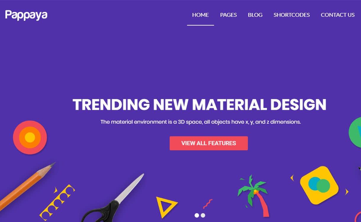 pappaya-best-premium-material-design-wordpress-theme