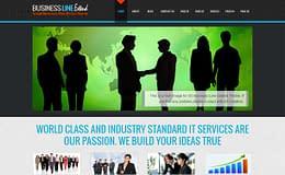 Business Line - Professional Business WordPress Theme