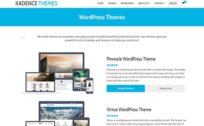 kandence-theme-WordPress-theme-store